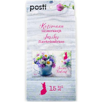 Postimerkki-ikimerkki-2017-Kesakukat-arkki-kukka-West