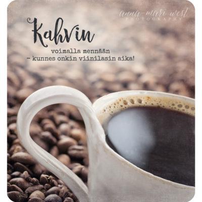 Kahvin-voimalla